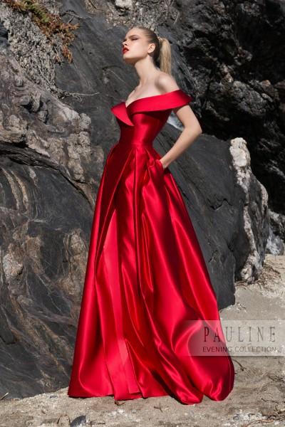 a0ab2470b410ade выпускное платье PAULINE модель АЛЫЕ ПАРУСА ( цена: 21000руб)кол-я 2019